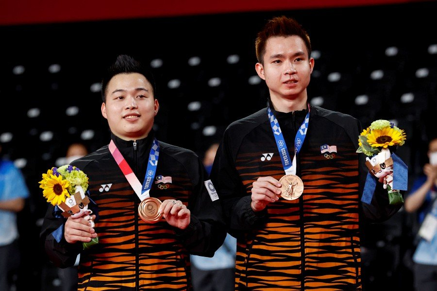 TOKYO 2020: AARON-WOOI YIK WIN BRONZE TO DELIVER MALAYSIA'S FIRST MEDAL